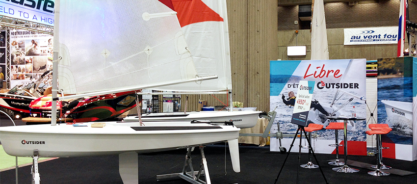 Roski presents its sailboat to the people of Quebec City